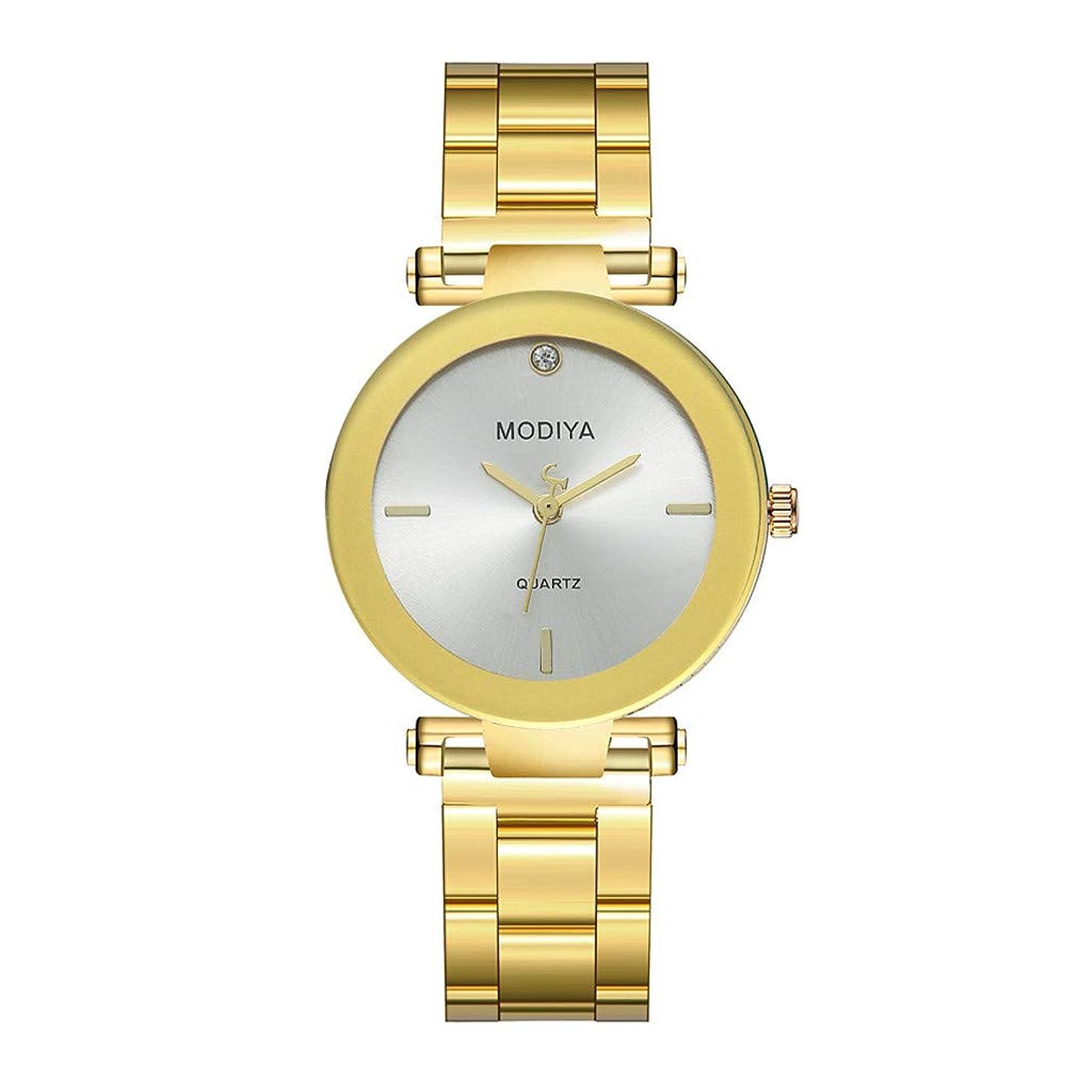 2019 Spring Deals! Wrist Watches Metal Bracelet Stainless Steel Sport Quartz Hour Wrist Analog Watch
