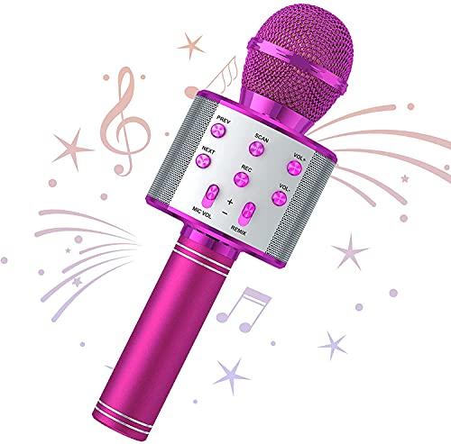 Almighty Microphone Wireless Microphone Karaoke Bluetooth-Mikrofon, tragbares...