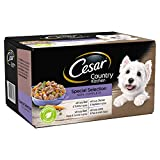 Cesar Country Kitchen - Wet Dog Food for Adult Dogs 1+ Special Selection