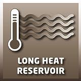 Einhell Flächenheizer FH 800 (230 V, 800 Watt, Thermostatregler, Befestigung als Wandheizung, Standfüße mit Lenkrollen, Kipp- und Überhitzungsschutz) - 8