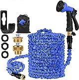 HOSE-PRO 100 FT Expandable Garden Water Hose Pipe, Magic Expanding Flexible Hose
