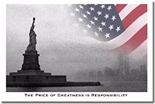 The Price of Greatness Is Responsibility - Classroom Motivational Poster