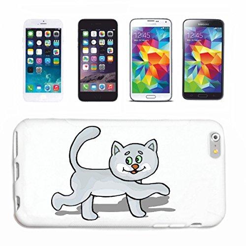 Reifen-Markt Carcasa para iPhone 6+ Plus, diseño de gatito con dibujos animados divertidos, película de culto, DVD