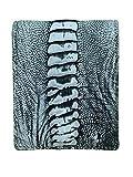 Doble cara de cera de avestruz de cuero minimalista Bifold Wallet para hombres 100% hecho a mano de cera de avestruz real piel de pierna