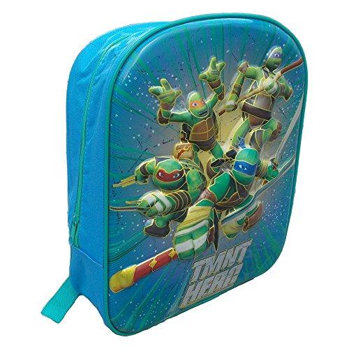 MC Rucksack 3D Turtles Ninja Nickelodeon 6D ASYLSCHULE cm.34 - TU0040
