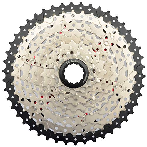 LANXUANR 9 Speed Mountain Bicycle Cassette Fit for MTB Bike, Road Bicycle,Super Light (11-46T)