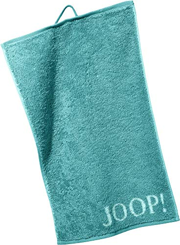Joop! Handtücher Classic Doubleface 1600 Türkis - 40 Gästetuch 30x50 cm