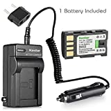 Kastar Battery and Charger Kit for JVC Everio GZ-MG330, GZ-MG330AU, GZ-MG330RU, GZ-MG330HU HD Camcorder and JVC BN-VF808 BN-VF815 BN-VF823 Battery jvc camcorders Dec, 2020