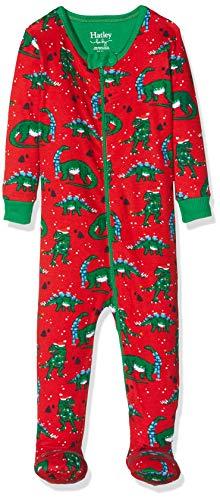 Herstellergr/ö/ße:5T Festive Fairisle Spotted Zebra Snug-Fit Cotton Footless Sleeper Pajamas pajama-sets 3er Pack Mehrfarbig 110 cm