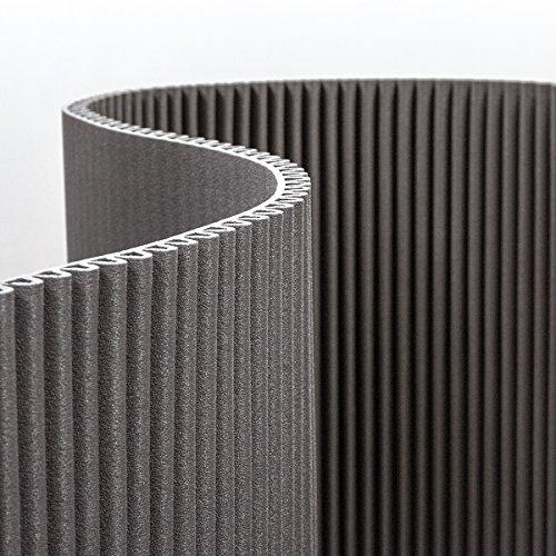 Waveform PEX: rotolo di polietilene espanso reticolato ondulato per decorazione, design e allestimenti. Presentato in bobine lunghe 3,5 metri, alte 1,2m e con spessore di 3,5 cm, possibile utilizzare questo materiale di grande appeal visivo per rivestire qualsiasi superficie e forma. (Cucina)