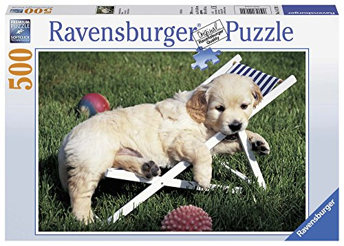 Ravensburger- Cucciolo di Retriever Puzzle, Multicolore, 14179