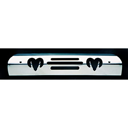 All Sales 95400K Black Billet Aluminum 3rd Brake Light Cover