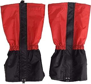 bulingbulingseason 1 Pair Outdoor Mountaineering Skiing Hiking Snow Leg Cover Boot Waterproof Legging Leg Overshoe