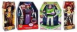 Toy Story Woody-Buzz Lightyear-Jessie Cowgirl-Zurg Talking Action Figure Doll Set