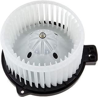 ECCPP HVAC Plastic Heater Blower Motor w/Fan Cage Motor FIT for 2012-2017 Hyundai Accent /2013-2016 Hyundai Genesis Coupe /2010-2015 Hyundai Tucson /2012-2017 Hyundai Veloster /2011-2016 Kia Sportage