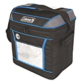 Coleman, Soft Cooler, 30 Cans, 24 Hour Liner, Blue