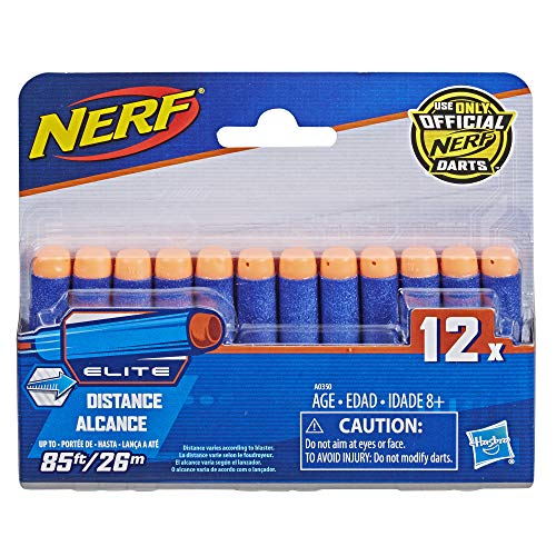 Official Nerf N-Strike Elite Series 12-Dart Refill Pack,Multicolor