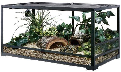 ReptiZoo Glas-Terrarium 90x45x45 cm, zerlegbar - verschickbar! RK0214 (ohne Inhalt)