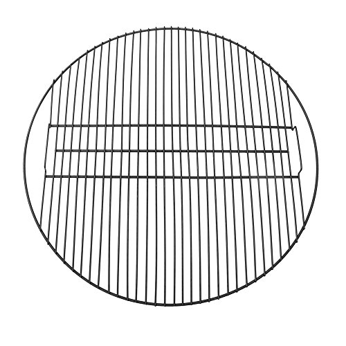 Sunnydaze Fire Pit Cooking Grill Grate for Outdoor Campfire BBQ, Heavy Duty 28-Pound Capacity Camping Cookware, Black, 34-Inch