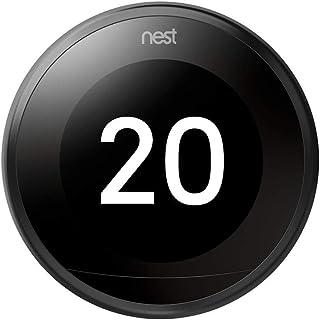 Nest Selbstlernendes Thermostat, 3. Generation, schwarz, T3029EX