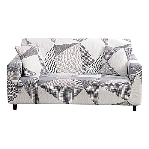 Unkow Sofa Slipcover Stretch Printed Pattern Universal Sofa Couch Covers Furniture Modern Elastic Protector - 3 Seater