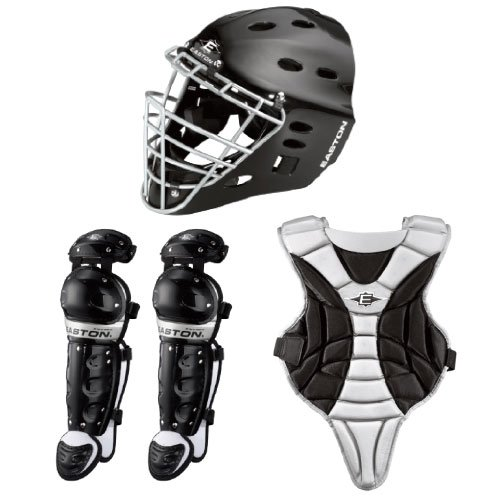 Easton Black Magic Catcher Box Set, Black, Youth
