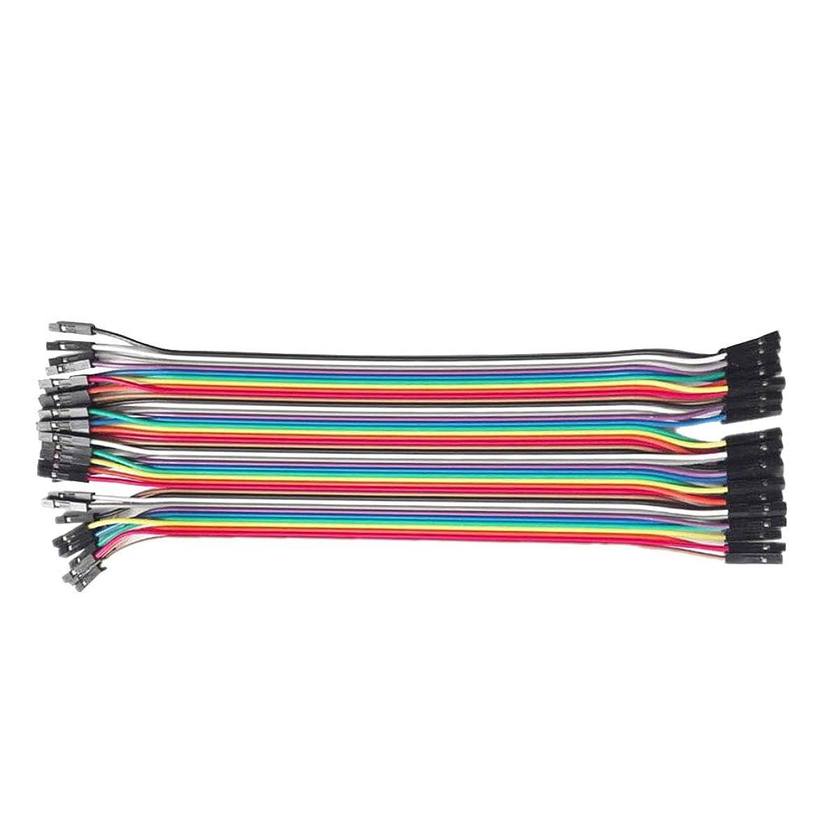 パステル蒸気トラップ最もよい40pcsデュポンワイヤー210MMケーブル線色1p-1pピンヘッダーのコネクター