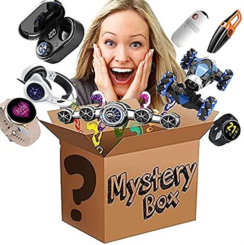 Xue Mei Zi Caja de Lucky, Caja de Misterio, artículo de Misterio, Caja de Sorpresa Cubiertas electrónica, Juguetes, hogar, Fitness, Deportes y artículos al Aire Libre. ¡Todo es Posible! (Aleatorio)