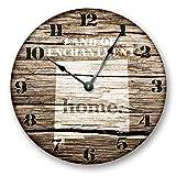 Alfery33red New Mexico State HOMELAND - Reloj de pared (tamaño grande, 30,5 cm)