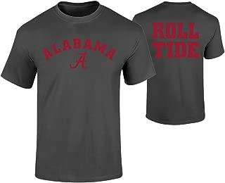 Alabama Crimson Tide TシャツHeather Gray