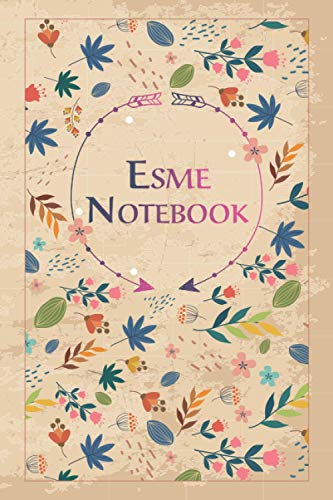 Esme Notebook: Lined Notebook/Journal Cute Gift for Esme, Elegant Cover, 100 Pages of High Quality, 6