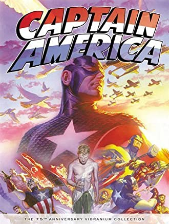 Captain America: The 75th Anniversary Vibranium Collection Slipcase by Stan Lee Steve Englehart Mike Friedrich Roger Stern(2016-02-16)