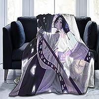 KPSHY デーモンスレイヤー光長忍フランネルコーラルフリース漫画毛布柔らかくて快適、軽量で暖かい、耐久性のあるウール毛布、エアコン毛布、ベッド、ソファ、椅子に適しています