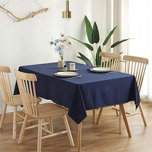 xcxc Mantel Impermeable de Color sólido Simple Mantel Salvaje de Moda Adecuado para Salas de reuniones, Mesas de café, Mesas de café