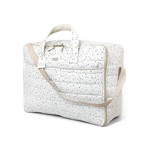 Maleta de Viaje para bebé Juliet Grey on Grey