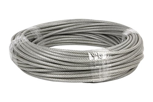 Cofan Rollo 50m cable acero plastificado Ø3x5mm