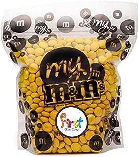 All Color M&M'S Bulk Candy Bag (Yellow, 5 LB)