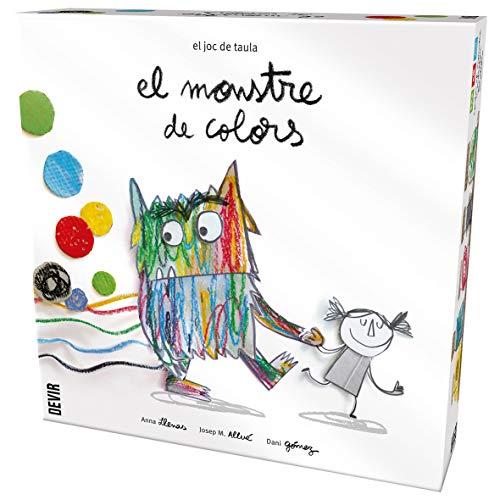 El monstre de colors, edición en catalán , color, modelo surtido