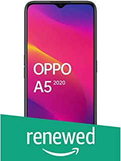 (Renewed) OPPO A5 2020 (Mirror Black, 4GB RAM, 64GB Storage) with No Cost EMI/Additional Exchange Offers