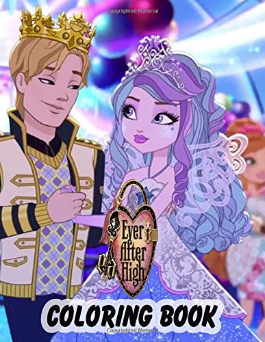 Ever After High Coloring Book: Coloring Book with 50+ High Quality Illustrations