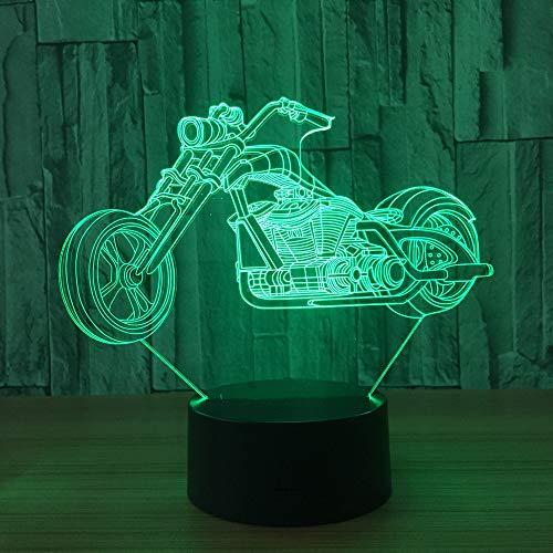 Locomotive 3D Lampe Veilleuse Optique Illusions 7 Changement de Couleur Acrylique Toucher Tableau Lampe de Bureau pour Enfants Chambre Noël Cadeaux d'anniversaire,Interrupteur Tactile