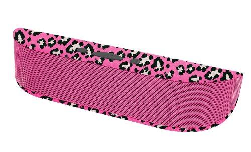 Aduro Beebop Portable Wireless Bluetooth Speaker with Built in Speakerphone (Pink Cheetah)
