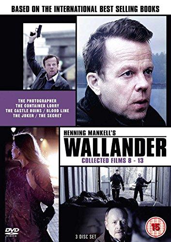 Wallander: Collected Films 8-13 [DVD] [Reino Unido]