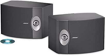 Bose 301-V Stereo Loudspeakers (Pair, Black)