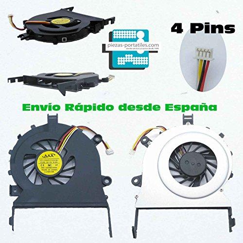 Fan Ventilador Nuevo Compatible para Acer Aspire 5820T 5745 4820T 4745 4 Pins