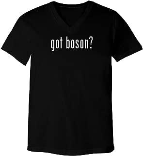got Boson? - Adult Bella+Canvas 3005 Unisex V-Neck T-Shirt