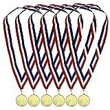 Durabol Premio Medallas,Ganadores Medallas de Metal para Niños Fiesta Deportiva Competición Juegos
