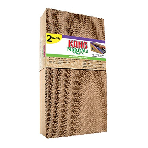 KONG CS9 Scratcher Refill for Incline and Double Cat Toy (2 Pack)