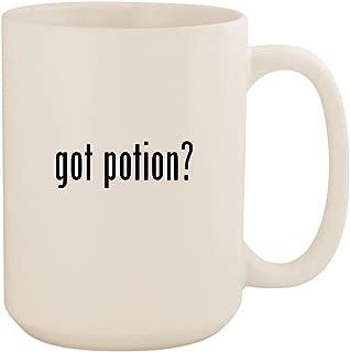 got potion? - White 15oz Ceramic Coffee Mug Cup