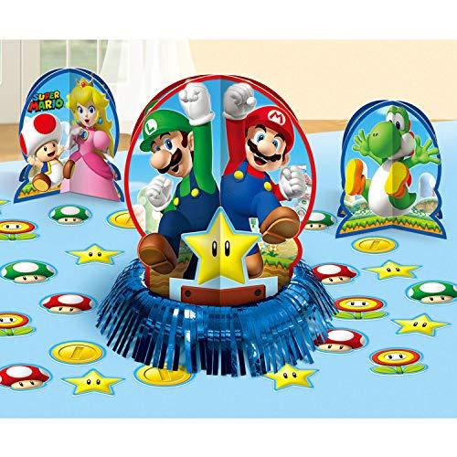 amscan Super Mario Party-Reihe, Mehrfarbig, Einheitsgröße